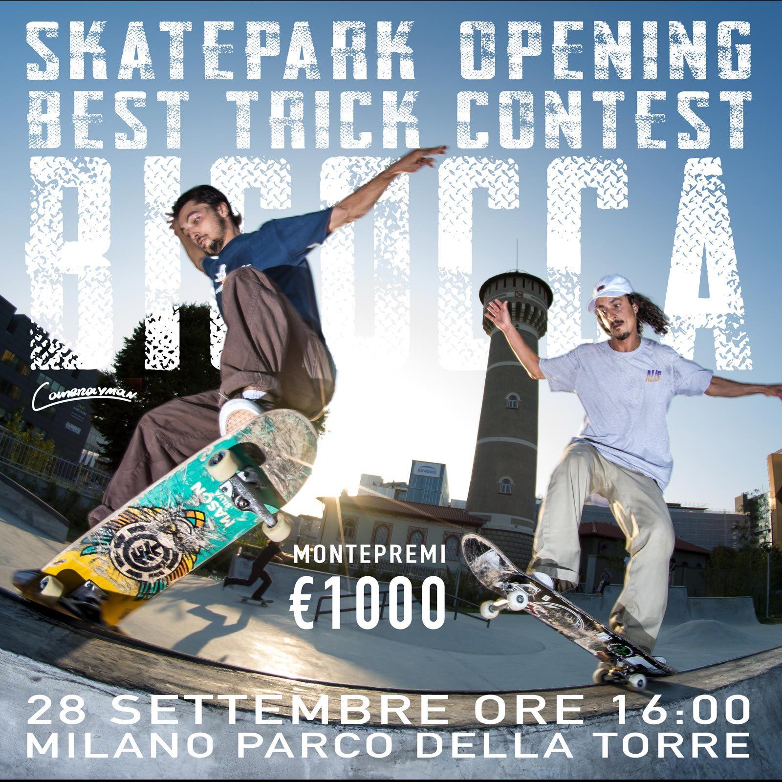 Bicocca Skatepark Opening